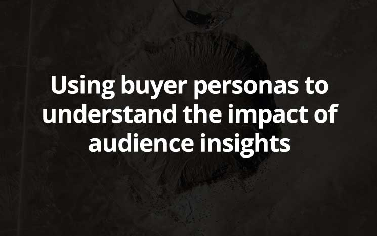 Using buyer personas