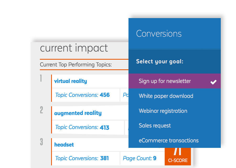 Conversion goal analysis