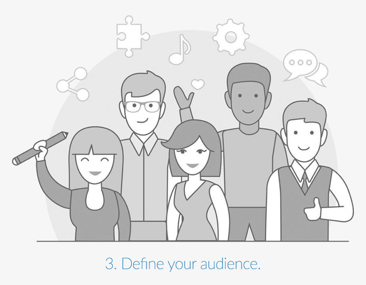 Define your audience.