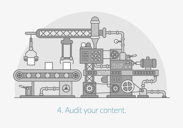 Audit your content.