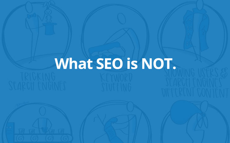 What SEO is NOT featured image