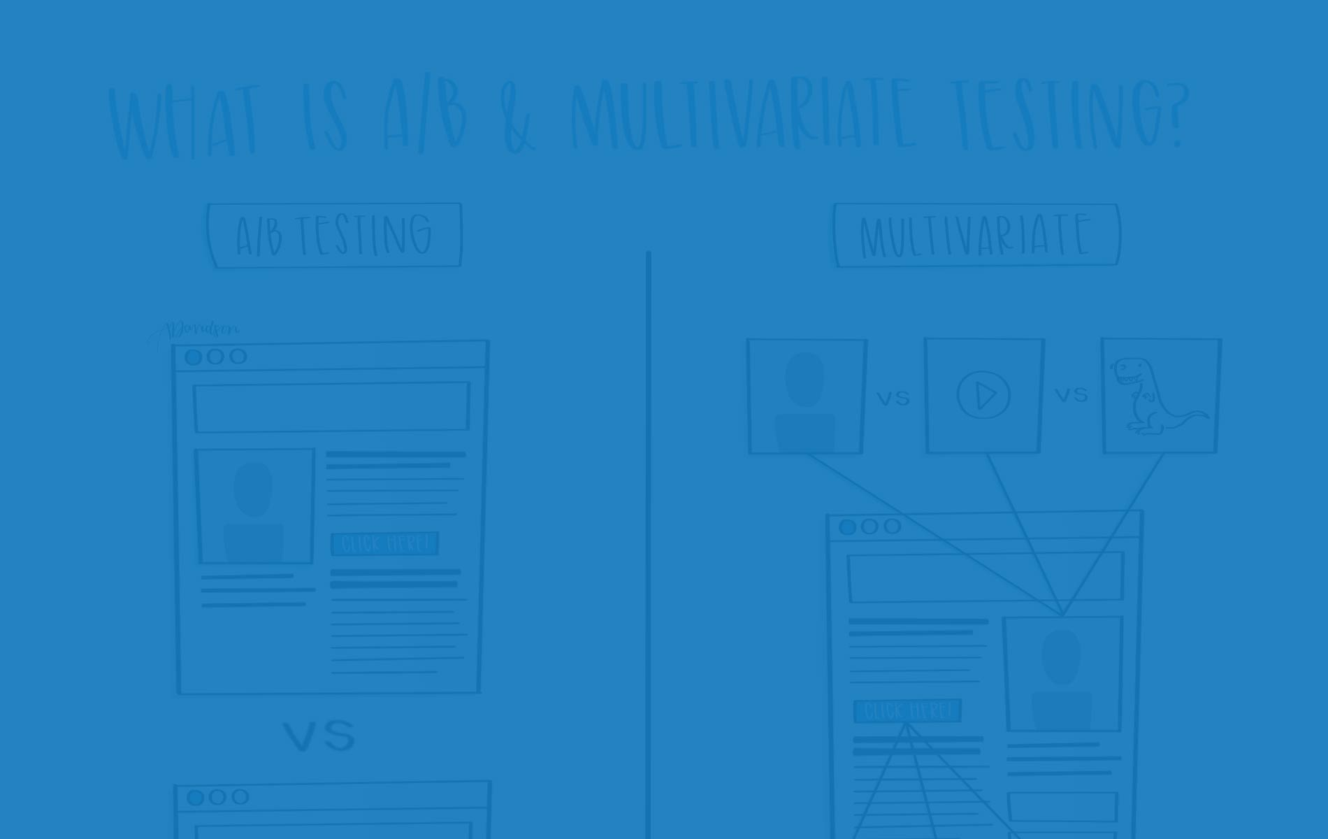 What is A/B & Multivariate Testing?